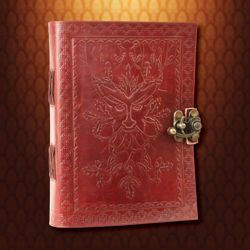 Picture of Green Man Leather Journal