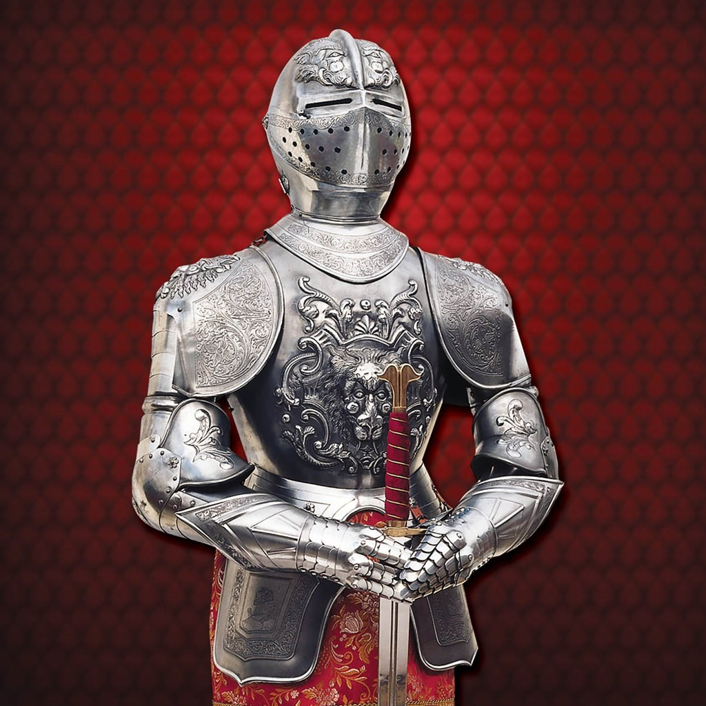 Embossed Carlos V Suit of Armour - Marto of Spain