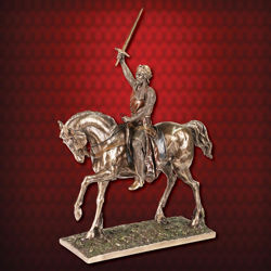 Picture of King Richard Equestrian Statue