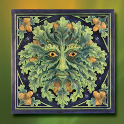 Picture of Green Man Wall Plaque