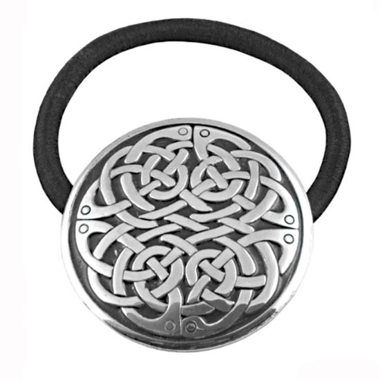 Picture of Pewter Never Ending Celtic Knot Hair Band