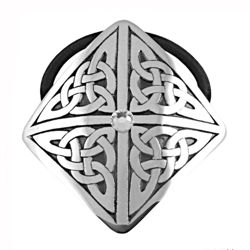 Picture of Pewter 4 Part Jeweled Celtic Hair Band