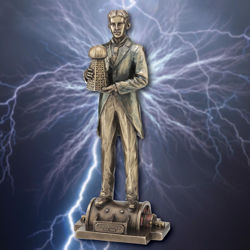 Picture of Nikola Tesla Statue