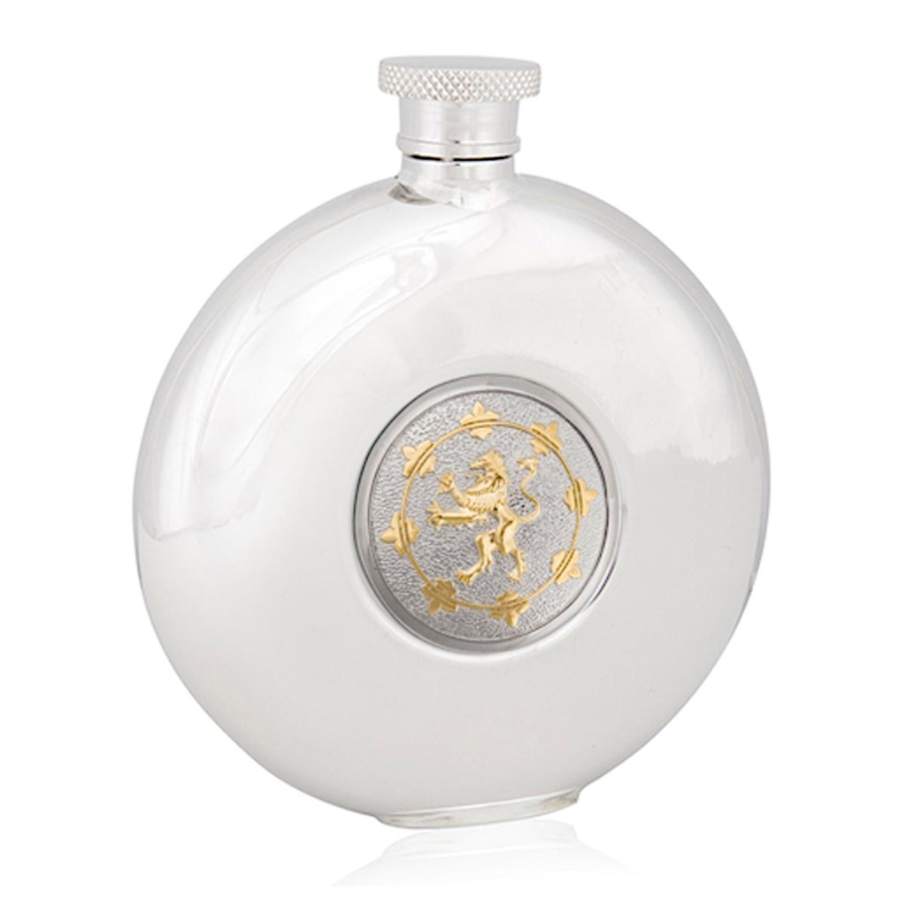 Picture of Rampant Lion Round Flask