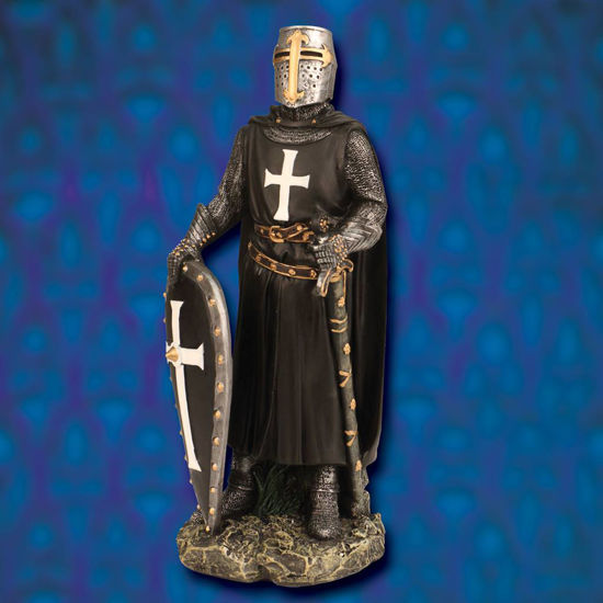 Picture of Hospitaller Knight Painted Statue