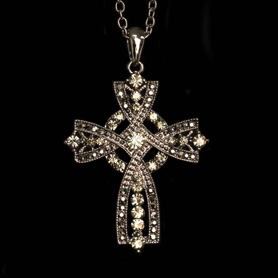 Picture of Brittany Cross Celtic Necklace