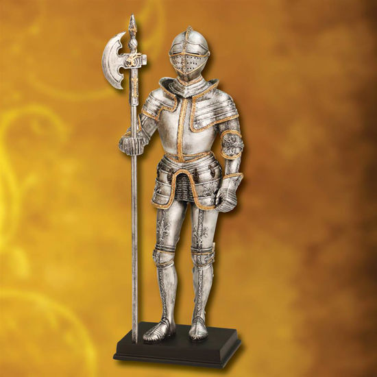 Picture of Burgundian Knight Statue
