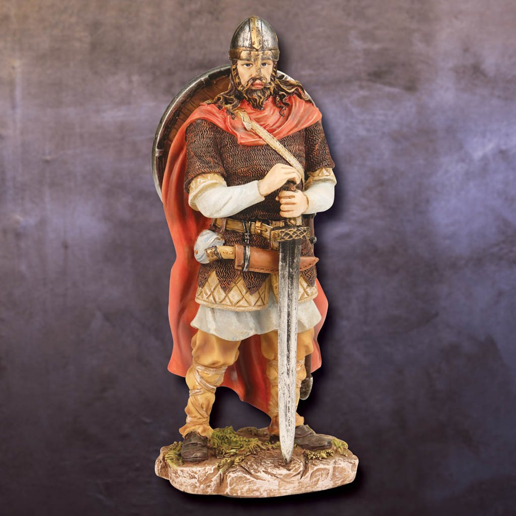 Picture of Viking Raider Statue