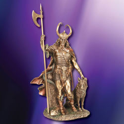 Picture of Loki Norse God Statue