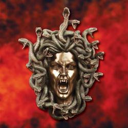 Picture of Head of Medusa Wall Plaque