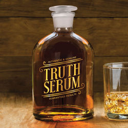 Picture of Truth Serum Glass Decanter