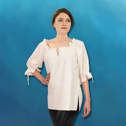 Picture of Hand-Woven, Hand-Stitched Ladies' Blouse