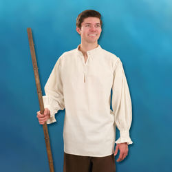 Picture of Hand-Woven, Hand-Stitched Men's Manor Shirt
