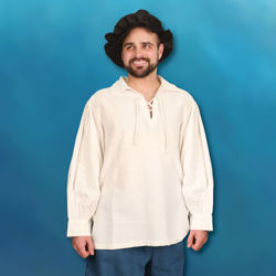 Hand-Woven, Hand-Stitched Men's Renaissance Shirt