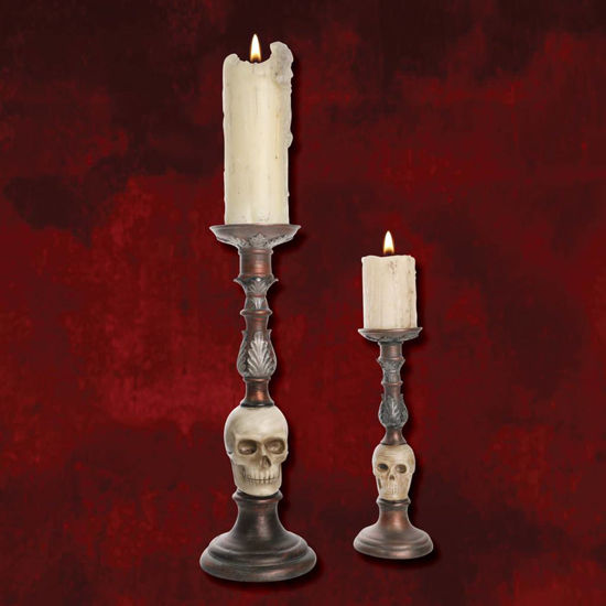 Picture of Skull Candlestick Set