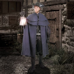 Picture of Capatino Double Mantle Wool Cloak