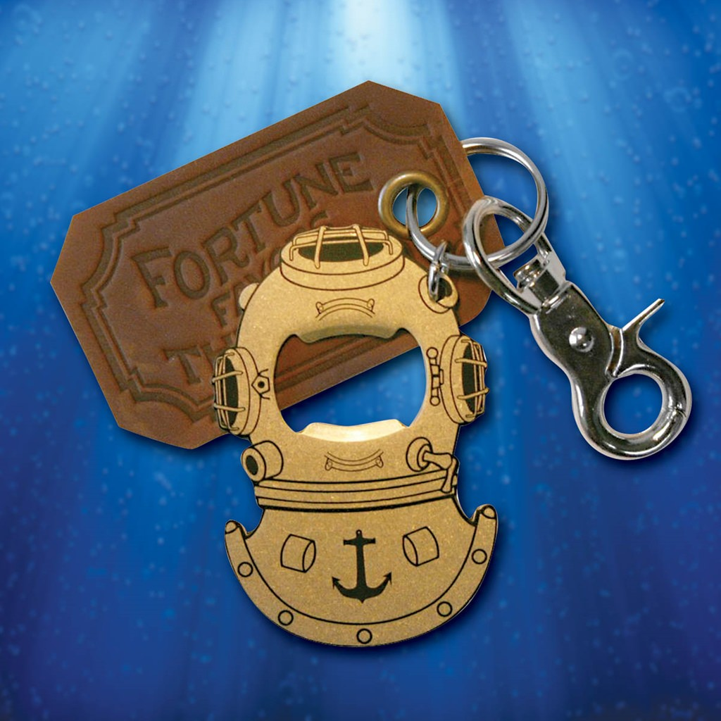 Picture of Gentleman's Diving Helmet Bottle Opener & Key Ring
