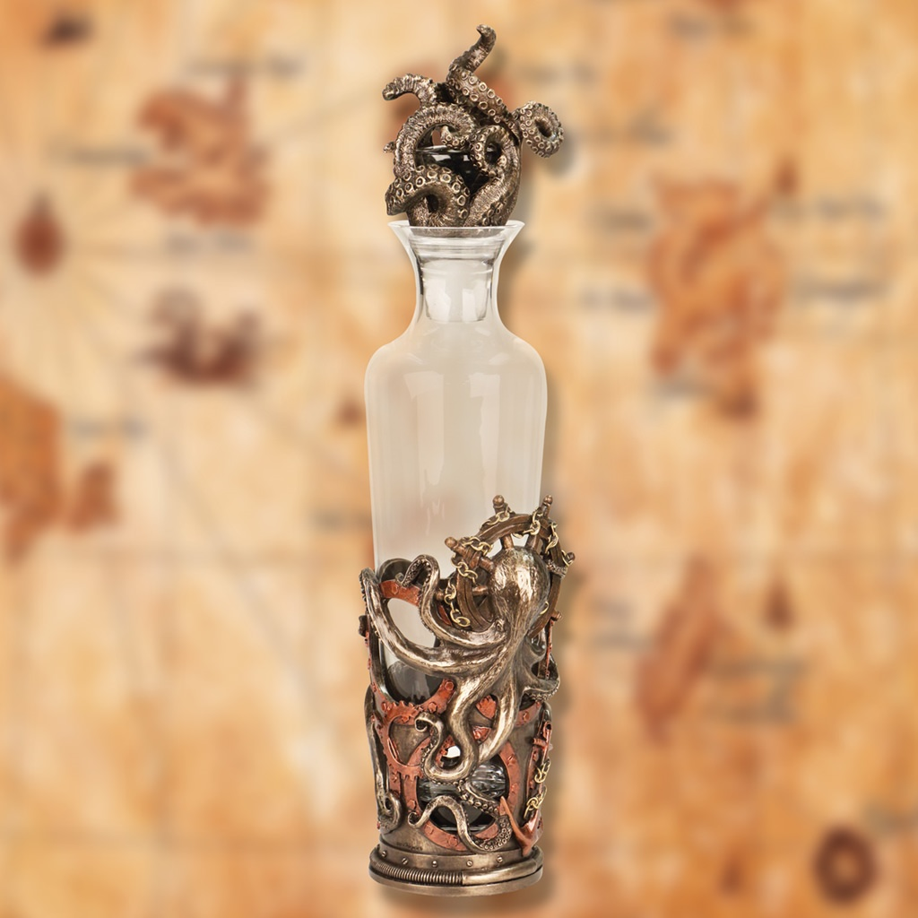 Picture of Octopus High Seas Decanter