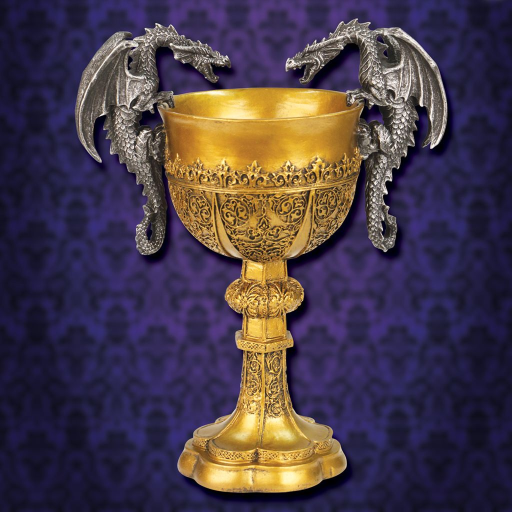 Picture of King Arthur Decorative Dragon Chalice