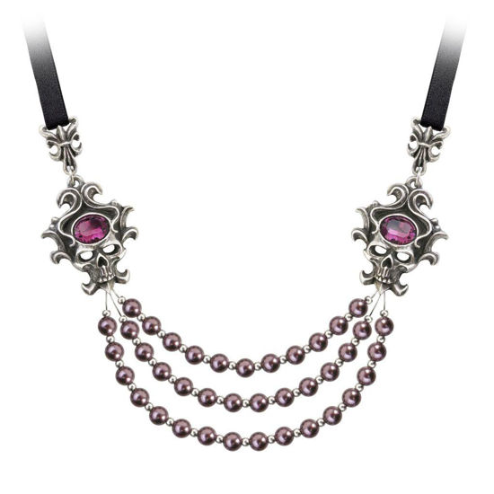 Picture of Palatine Pearls of the Underworld Necklace