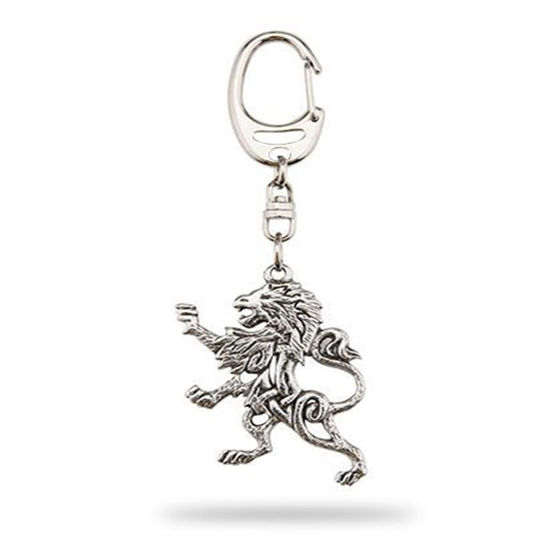 Picture of Pewter Celtic Lionheart Keyring