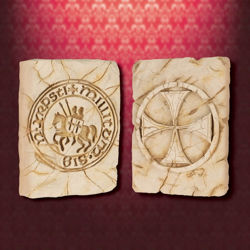 Knights Templar Wall Plaques - Set of 2