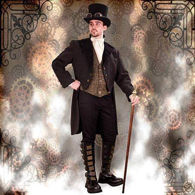Picture for category Men's Steampunk Clothing & Accessories