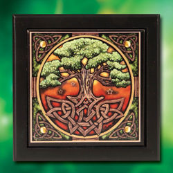 Picture of Tree of Life Tile Trinket Box