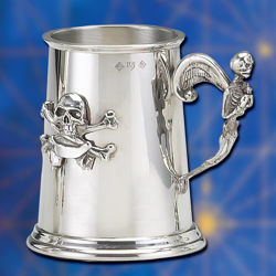 Picture of High Seas Pewter Pirate Tankard
