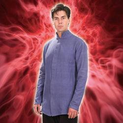 Mystic Blue Cotton Shirt
