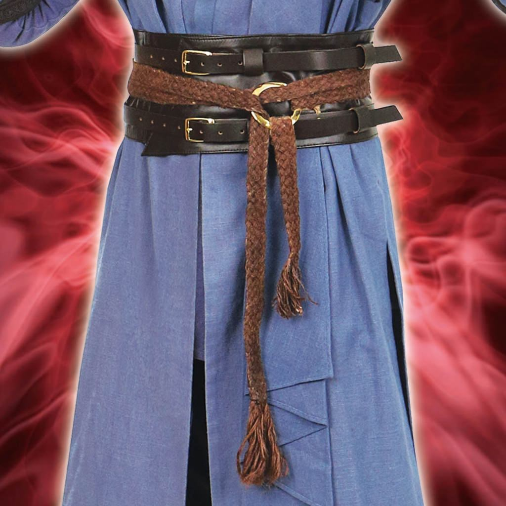 Mystic Leather & Hemp Belts