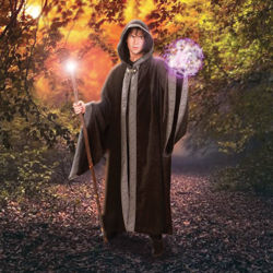 Picture of Sorcerer's Hooded Cloak
