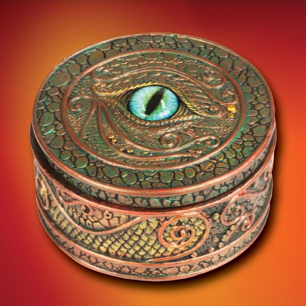 Picture of Dragon Eye Trinket Box