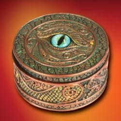Picture of Dragon Eye Trinket Box