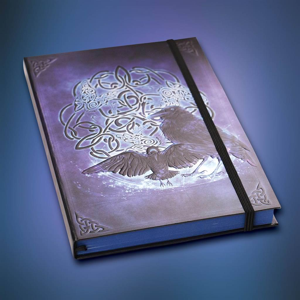 Picture of Celtic Raven Journal