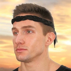 Suede Braided Headband