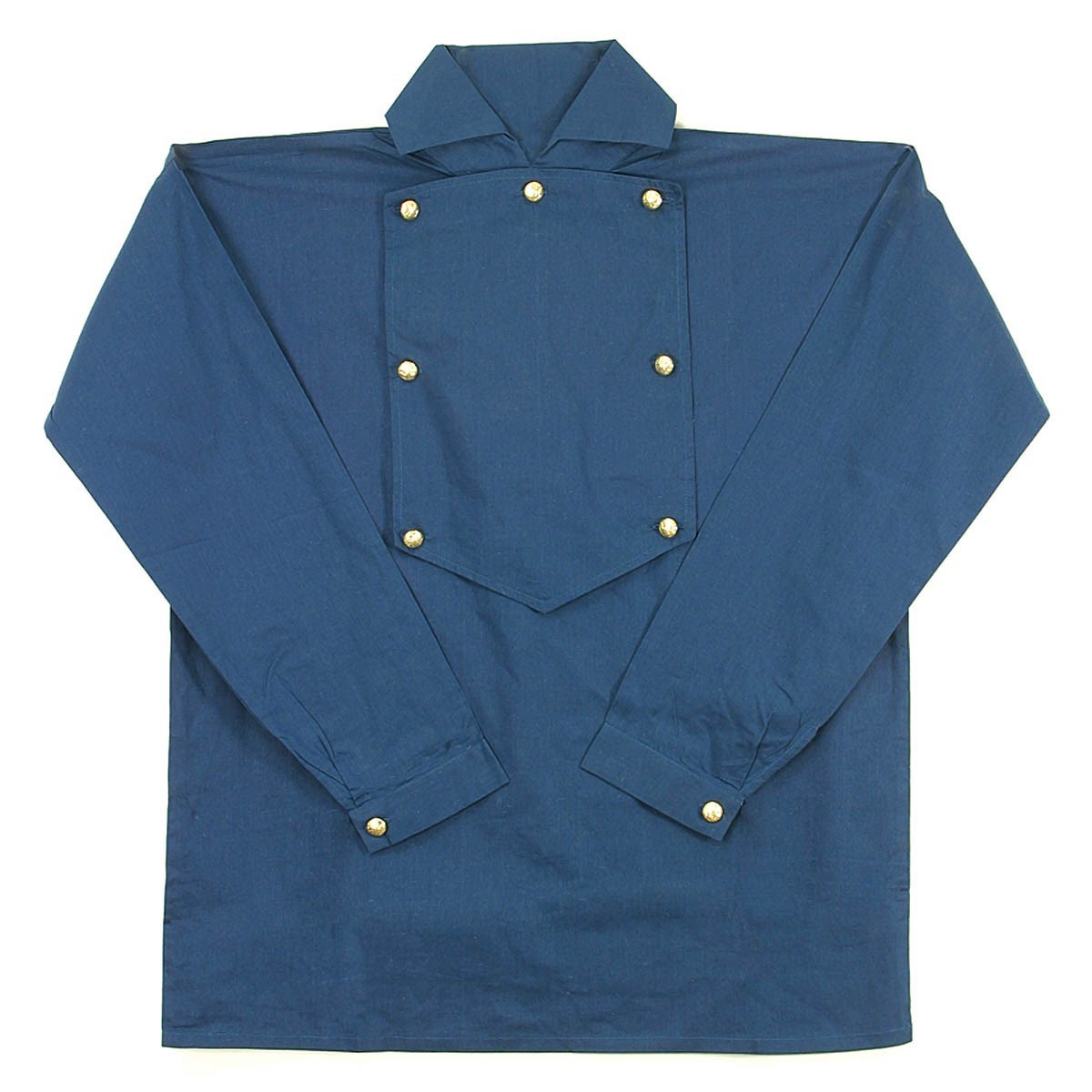 Cotton Cavalry Shirt Dark Blue