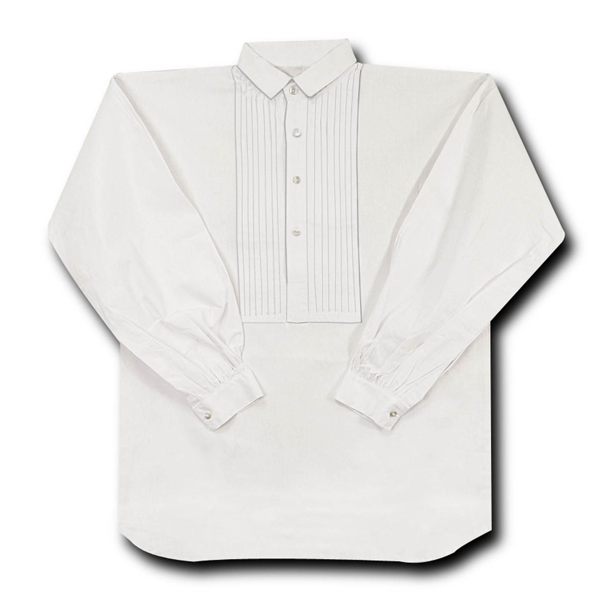 Pleated Front Dress Shirt  Front