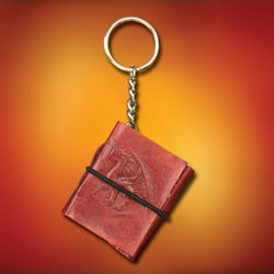 Dragon Keychain Journal - Embossed Leather