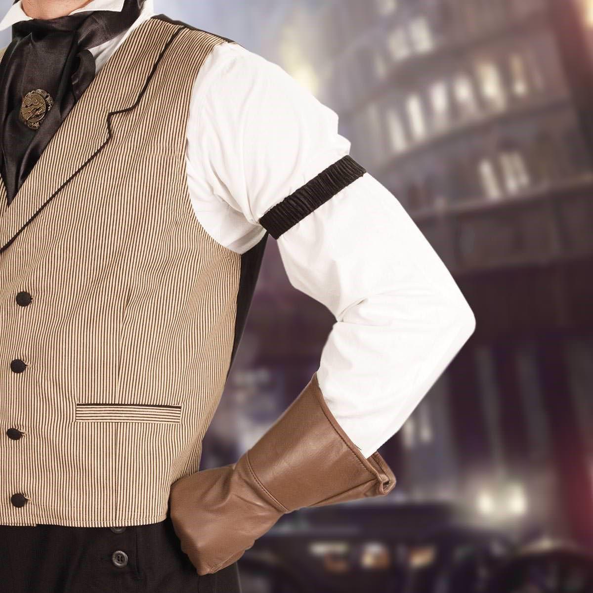 Men's Shirt Sleeve Garters closeup