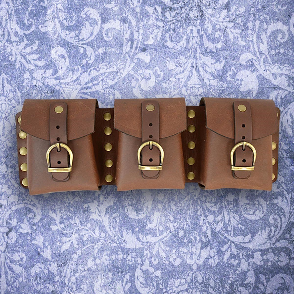 Steampunk Utility Belt Brown Pouch