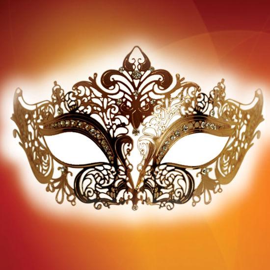 Golden Fantasy Mask