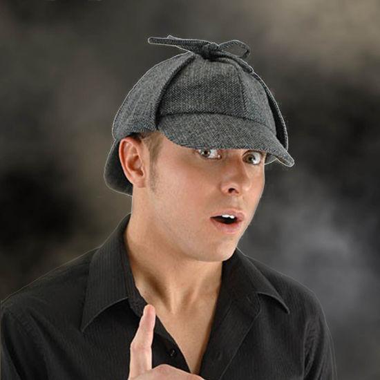 Sherlock Holmes Deerstalker Cap
