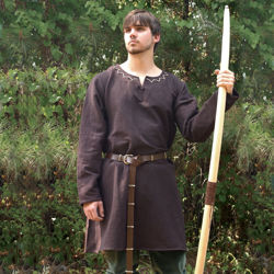 Huntingdon Medieval Brown Under-Tunic