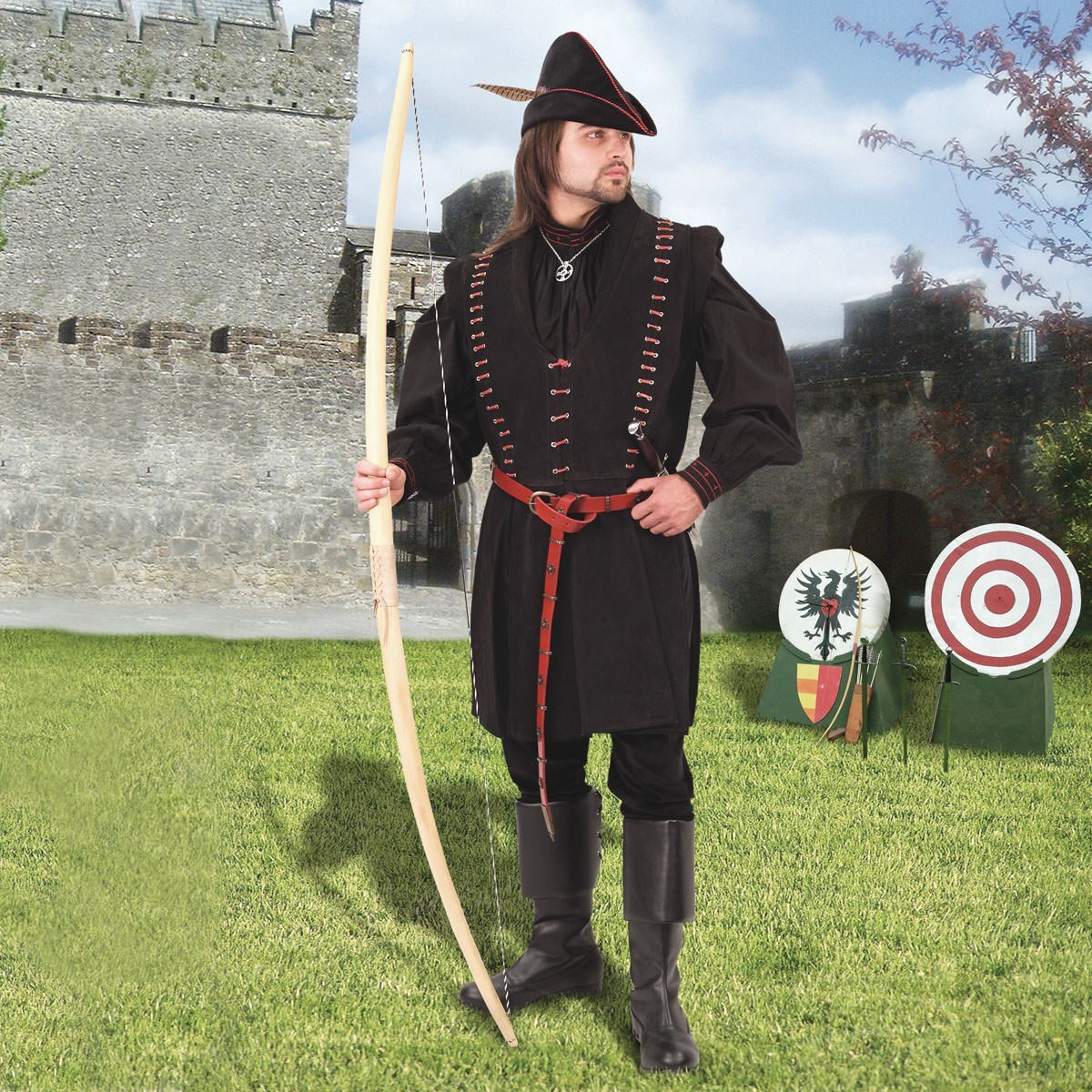 Nottingham Suede Medieval Jacket