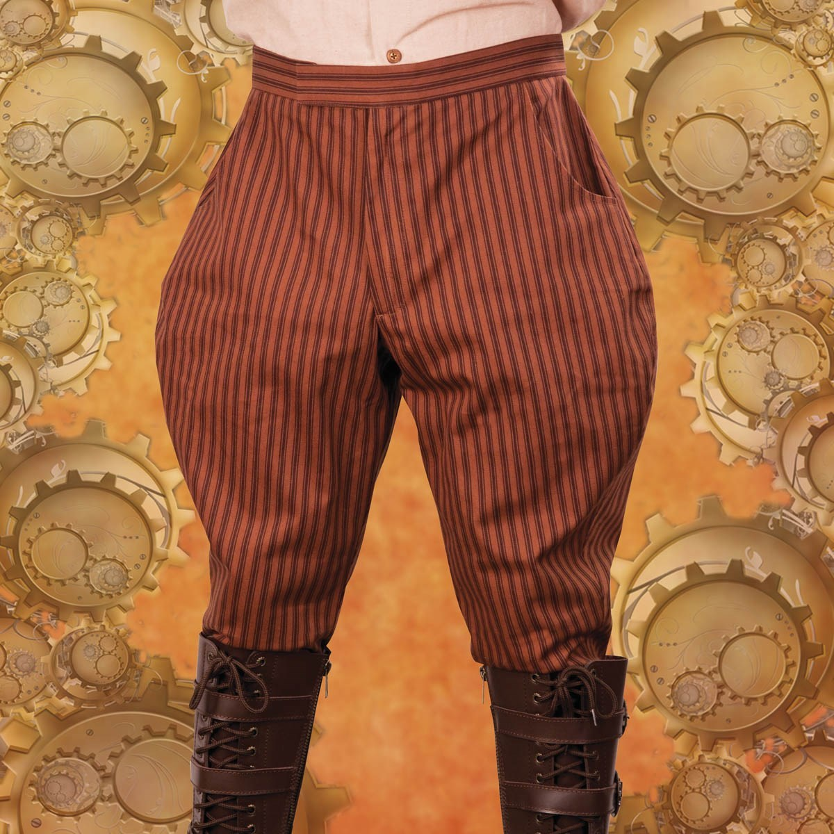 Picture of Striped Jodphur Style Pants