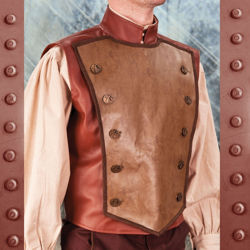Steampunk Airship Captain Flying Vest