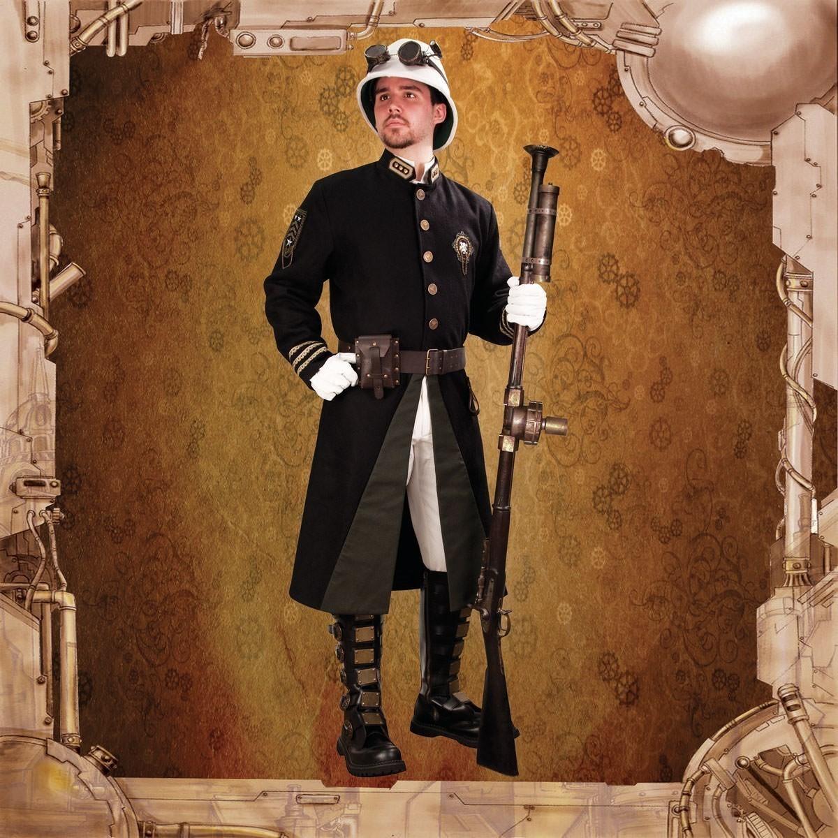 Steampunk Britannia Guard Coat