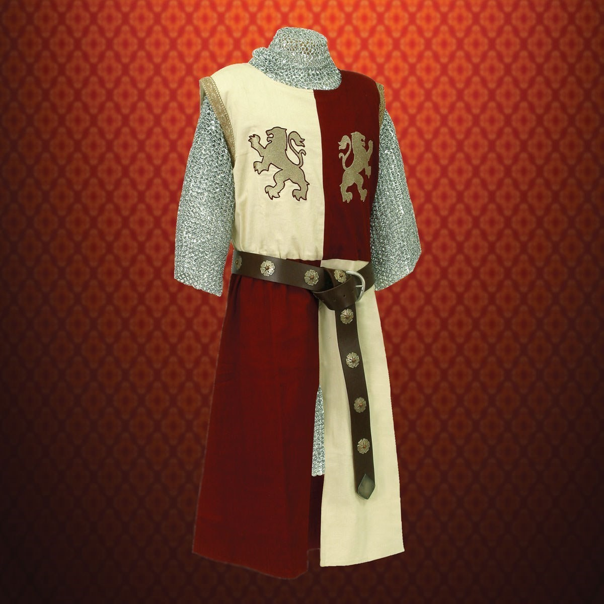 Baron's Tunic - Gold embroidery & trims