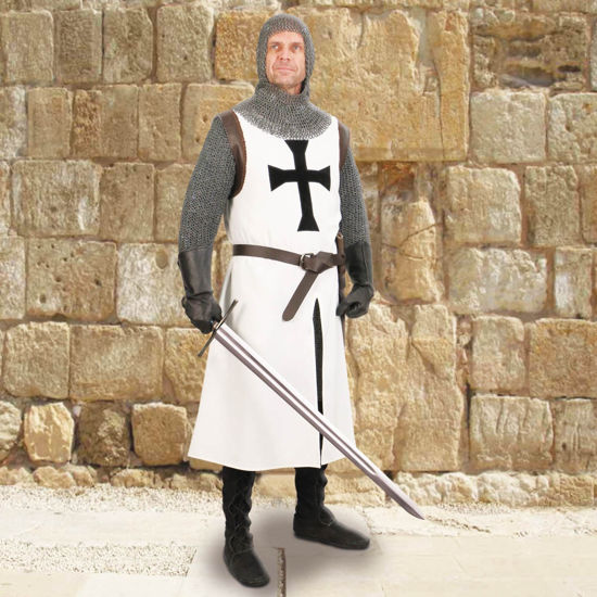 Teutonic Knight's Cotton Quartered Tunic